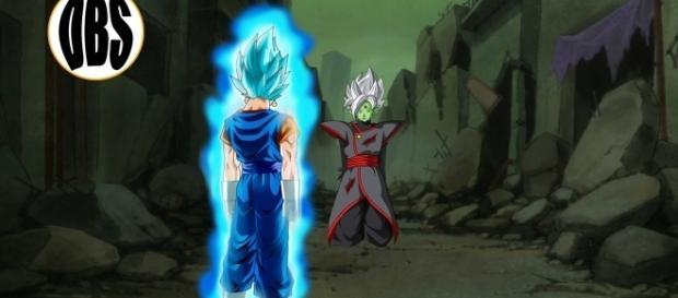 Vegetto derrota a Zamasu fusionado