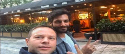 Serkan Cayoglu con la barba su Instagram