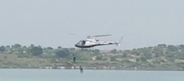 2 Kannada actors jump from chopper and drown (Youtube screen grab)