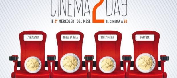 Domani torna per il terzo appuntamento il Cinema2Day.