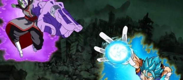 dragon ball super vegetto vs zamasu
