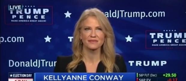 Kellyanne Conway on Donald Trump, via YouTube