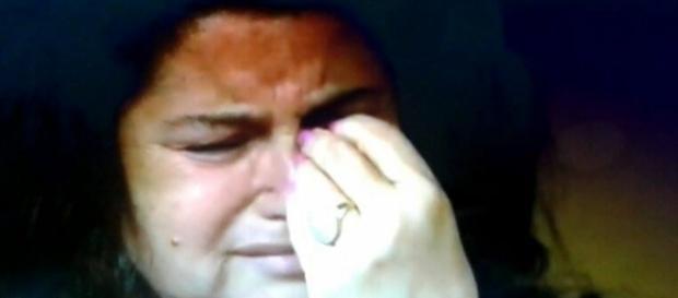 La madre di Tiziana Cantone in lacrime durante il Maurizio Costanzo Show