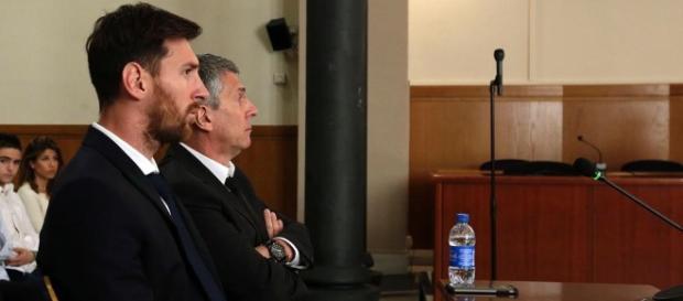 Leo Messi en el banquillo de los acusados por el fraude con la Hacienda española
