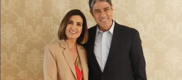 O casal de jornalistas finalmente se cruzou após o divórcio