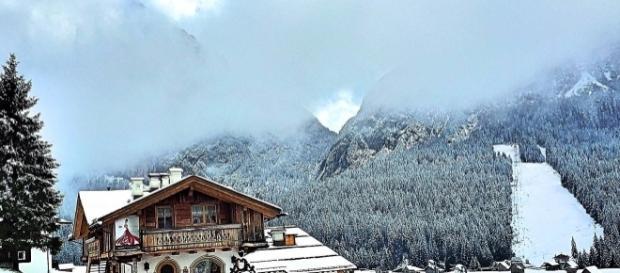 Sappada, la prima neve, novembre 2016