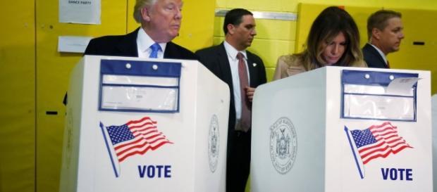 Trump non si fida del voto di sua moglie?
