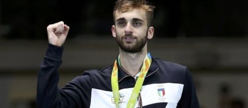 Daniele Garozzo premiato a Rio De Janeiro