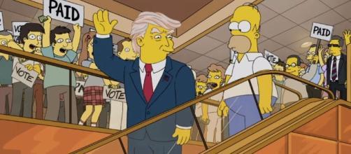 I Simpson avevano già previsto Trump Presidente nel 2000.