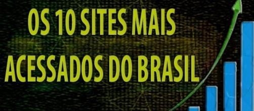 Os 10 sites mais acessados do Brasil (Imagem: Hamilton Xavier)
