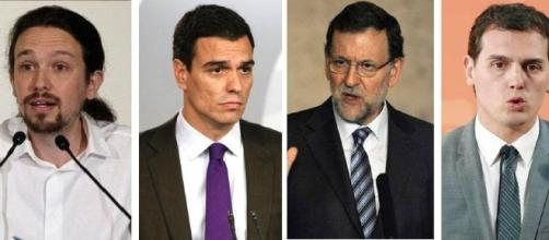 Principales dirigentes políticos de España