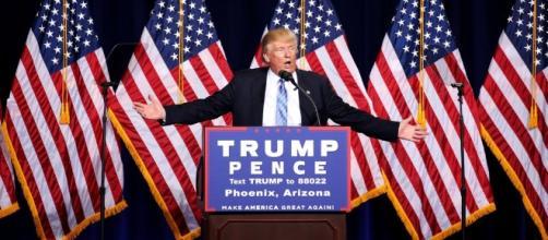 Trump en un discurso de campaña - nytimes.com