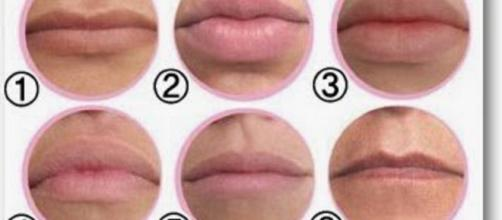 Tipos de lábios existentes no mundo