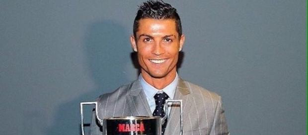 Another achievement - Cristiano Ronaldo receives his 3rd Pichichi ... - ronaldocr7.com