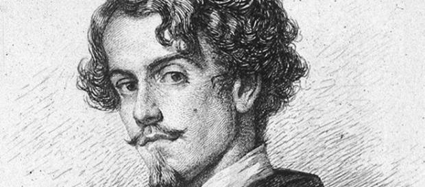 Dibujo del escritor Gustavo Adolfo Bécquer