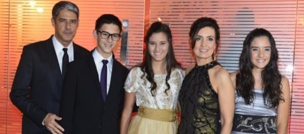 Fátima Bernardes falou sobre a educação dos filhos