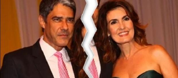 Fatima e Bonner não se encontraram na gravação de final de ano da Globo