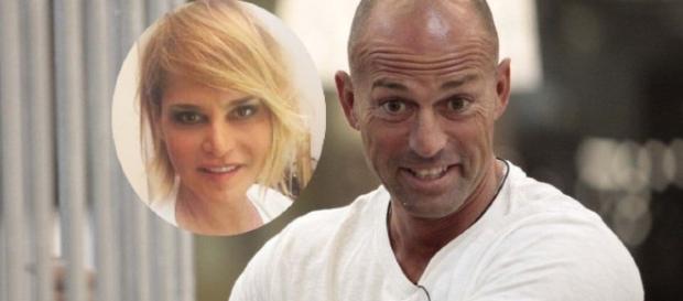 Nella foto: Simona Ventura vs Stefano Bettarini