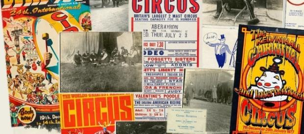 New exhibition includes circus memorabilia dating back 80 years.