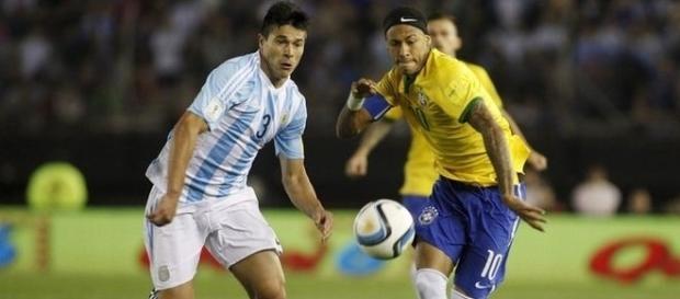 No jogo do 1º turno, Argentina e Brasil empataram em 1 a 1, no jogo realizado em Buenos Aires.