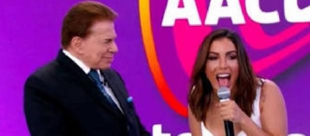 Silvio Santos causou mal-estar com Anitta no palco