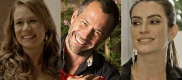 Tancinha, Apolo e Tamara em 'Haja Coração' (Divulgação/Globo)