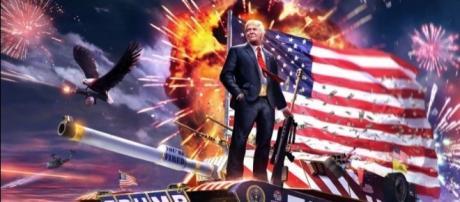 Donald Trump un peligro bélico para el mundo