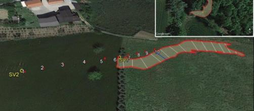 I vulcanelli di fango e le aree interessate (1)