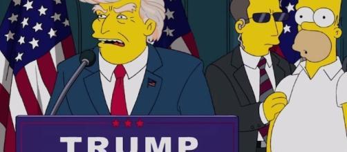 Los Simpson predijeron que Trump sería presidente de EEUU