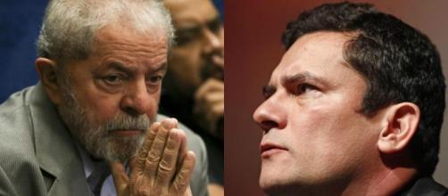 Moro e Lula frente a frente por videoconferência