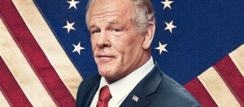 "Nick Nolte interpreta Richard Graves, presidente USA della serie ""Graves"""