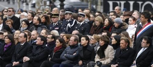 Parigi, il giorno della memoria.