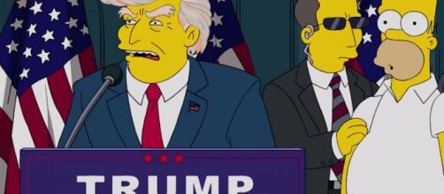 """Simpsons """"adivinharam"""" que Trump chegaria à presidência dos EUA"""