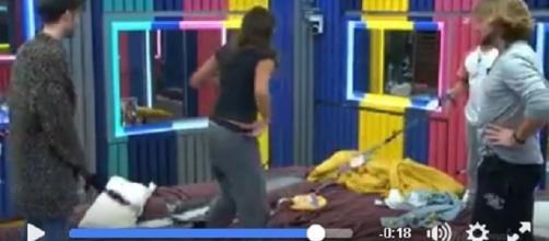 Vídeo de la broma que le han gastado a Meri con su ropa interior