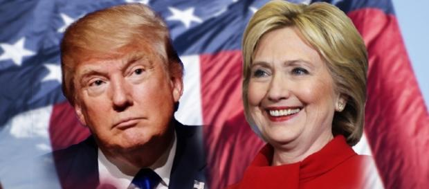 A apuração de votos está acirrada para Hillary e Trump (Foto: Reprodução)