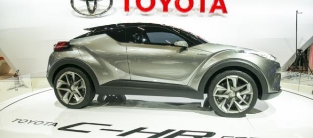 """C-HR Concept, protótipo """"vencido"""" que está no estande da Toyota; versão comercial já é vendida até em Portugal, desde setembro"""