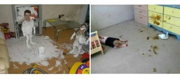 Crianças arteiras são sucesso na net