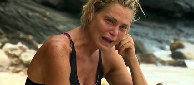 Gossip Simona Ventura in lacrime