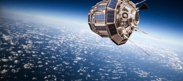 Imagem de satélite abandonado pela Nasa, em 1967