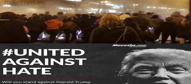 O povo e as celebridades contra Trump