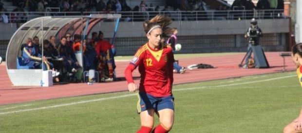 Partido de clasificación para el Mundial 2015 entre España y Rumanía.
