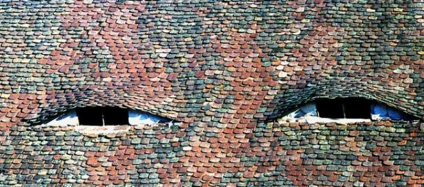 Roof In Sibiu Romania Photograph by Emanuel Tanjala - fineartamerica.com
