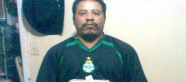 Ruben Rivera Vázquez se irritou com o cartão vermelho e agrediu o árbitro