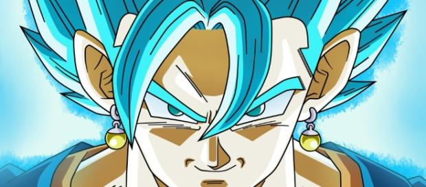 Vegetto super sayajin blue Dios
