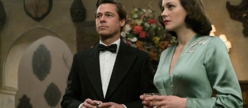 Brad Pitt y Marion Cotillard, pareja de espías durante la Segunda Guerra Mundial.