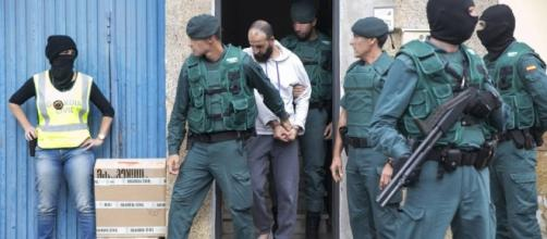 Grupos terroristas en terreno español han sido arrestados por la Guardia Civil.