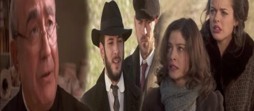 Il Segreto, anticipazioni trame gennaio: Candela e Sol rapite da Eliseo, ritorna Don Anselmo