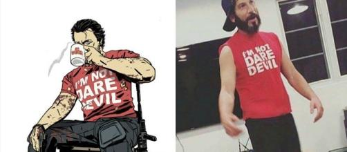 Jon Bernthal hizo referencia al comic usando la misma playera que The Punisher