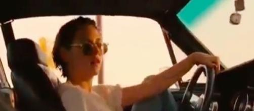 "Kristen Stewart in ""Ride Em On Down"" screenshot via Andre Braddox"