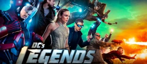 Legends of Tomorrow tv show logo image via Flickr.com